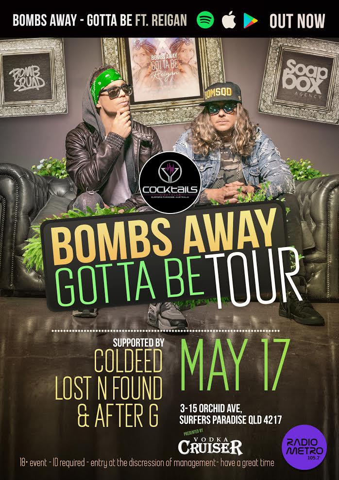 Bombs Away Cocktails 2019